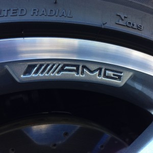 Decals designed for the 2014 CLA 250 AMG sport package rim